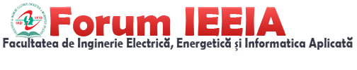 Forum Facultate de Inginerie Electrica, Energetica si Informatica Aplicata