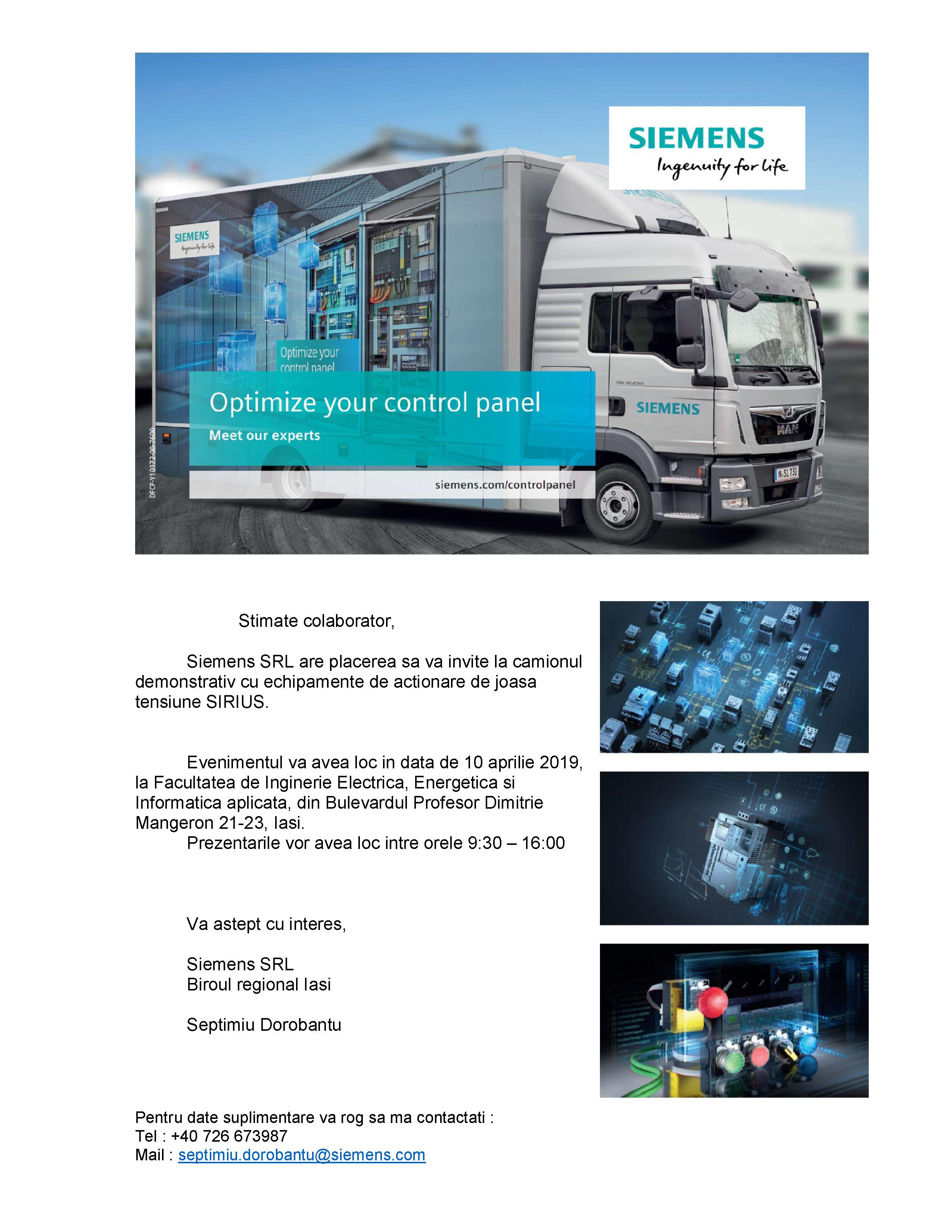 Invitatie Demo Truck CP 2019